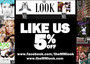 LIKE us! and get 5% discount! by The MM Look