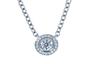 Diamond Halo Pendant $ 15,000 by Haywards of Hong Kong