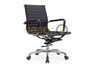 ALUMINUM EXECUTIVE LEATHER OFFICE CHAIR - MID-BACK: HK$1,890.00 by Decor8 Modern Furniture and Home Decor