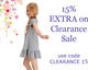 15% off on Clearance Sale with code CLEARANCE15 until Sept 5! by Little Parisians Kids Clothing