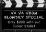 Va va voom blowdry special by Hollywood Hair