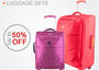 Luggage sets - up to 50% off.  by Singli Hong Kong