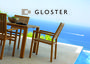 """""""Gloster"""" Square Armchair Teak $3,185 by Everything Under The Sun"""