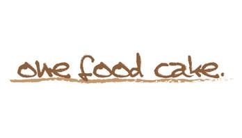 One Food Cake Logo