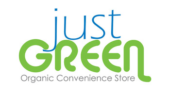 Just Green Organic Convenience Store Logo