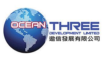 Ocean Three  Logo