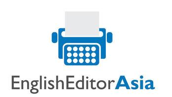 English Editor Asia Logo