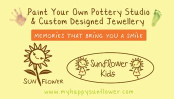 My Happy Sunflower  Logo