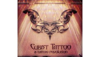 Cubist Tattoo Logo