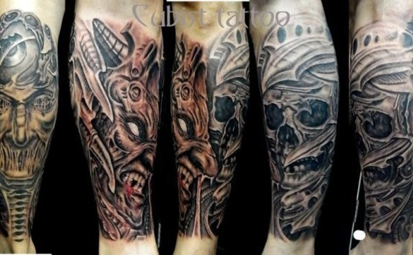 Cubist Tattoo photo 2