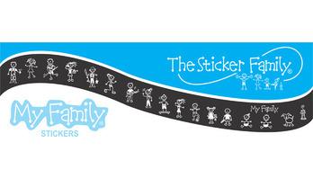 The Sticker Family Hong Kong Logo