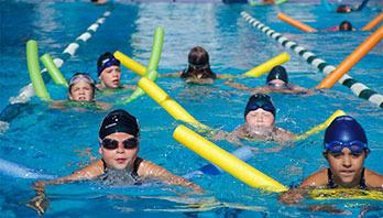 Stanford Swim School Logo