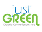 Just Green Organic Convenience Store logo