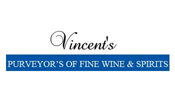 Vincent's Fine Wine & Spirits Logo