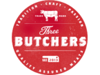 Three Butchers logo