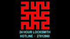 24 HR LOCKSMITH logo