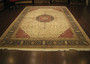 tree of life fine quality piece 80%wool and 20%silk inlaid pile by ORIENTAL RUGS ( Persian Carpet Retailer )