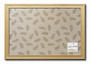 framed fabric covered pinboards by Chictack HK