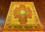 top of the line old tabriz silk & wool persian piece by ORIENTAL RUGS ( Persian Carpet Retailer )