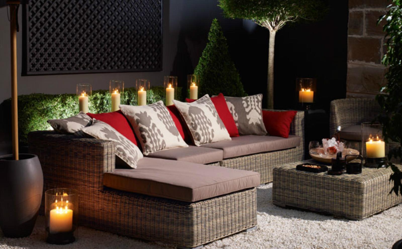 Плетенная мебель для балкона. - дизайнерские решения - катал.