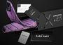 Each necktie comes in elegant packaging by The Dark Knot