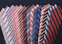 A comprehensive representation of our Striped Ties by The Dark Knot