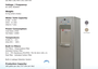 Water Dispensers – E.g. H2Office by Life Solutions