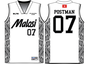 MALOSI Basketball Tops by RUGBY ASIA CHANNEL