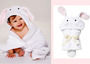 ELEGANT BABY Bunny Bath Wrap by ANKIonna petit boutique