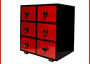 6 Drawers Lacquer Cabinet  by Good Laque