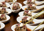 Seared tuna with wasabi and soy
