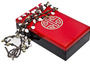 Double Happiness Lacquer Box--Double happiness Chinese symbol on its cover. Available in crimson ...
