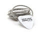 Simply Silver Guitar String Bracelet - The original, classic guitar string bracelet http://goo.gl...