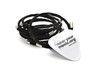 Backstage Black Guitar String Bracelet - Our most popular guitar string bracelet http://goo.gl/gl...
