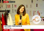 Check out BBC's fabulous Bryony Mackenzie reporting from London Fashion Week, rocking our 18K gol...