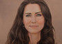 HRH Catherine Duchess of Cambridge (property of Kensington Palace) by David Wells, OMSA Art Galle...