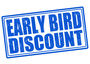 Early bird discount available till 20th May!  Don't miss the chance!