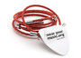 Rock Star Red Guitar String Bracelet - A color that demands attention http://goo.gl/EiDhov