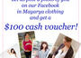 Photo Campaign: Let us post a photo of you on our Facebook in Mayarya clothing and get a $100 gif...