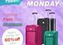 CyberMonday 2014 with the ultimate luggage offer. Only on Dec1 so HURRY! http://www.singli.com/co...