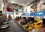 Check out our newly renovated premises at Sideways,  now with 15 networked simulators