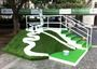UBS Hong Kong Open 2012, Crazy Golf at Chater gardens. Holes ranging from Happy valley, to the Pe...