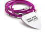 Punk Pink Guitar String Bracelet - Pop on a punk pink bracelet and head out on the town http://go...