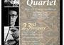 Year of B. Britten- Stanley Quartet, 23rd Jan, 7:30 Cocktail, 8-9.45pm Concert, at Stanley, RSVP:...
