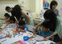 A reunion pottery painting session with children and parents at our studio. Express your thoughts...