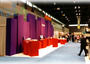 Exhibition setup at Chicago Houseware Show from Hong Kong