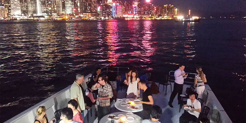 Hong Kong Cruise Inside Cruise From Hong Kong