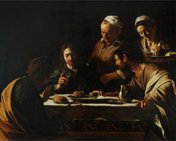 Main-photo_caravaggio-exhibition_supper-at-emmaus_squarebox_square_box