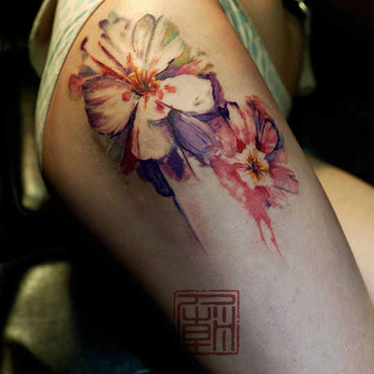 Show us your tats hong kong photographer on the hunt for for Hong kong tattoo