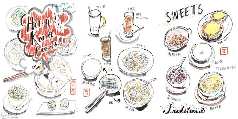 30+ Cartoon Dim Sum Drawing Wallpapers